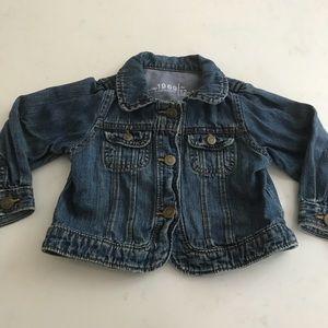 Gap baby girl denim Jean jacket